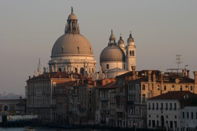 Venetian skyline.