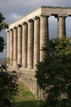 Columns in Edinburgh
